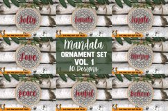 Christmas Ornament SVG - Mandala SVG Bundle Product Image 1