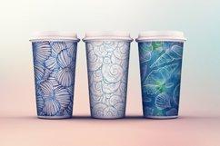 Sea shells seamless patterns set Product Image 3