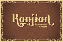 Kanjian Typeface Product Image 1