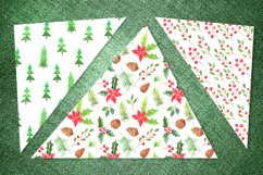 Watercolor 10 Christmas Patterns Product Image 2