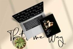 Web Font Bonhat - A Stylish Signature Font Product Image 2