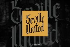 Andalusia - The Blackletter Typeface Product Image 3