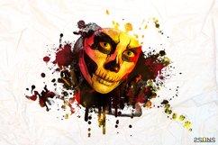 20 Beautiful portrait paint masks, halloween, Photoshop Product Image 8