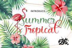Summer Tropical Product Image 1