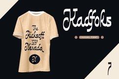 Web Font Kadfoks - Casual Fonts Product Image 3