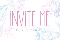 Morning Rain Font with Dots Product Image 4