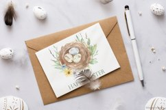 Easter bunnies watercolor Product Image 10