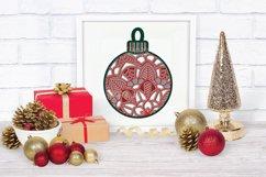 Christmas SVG Multi Layer Ornament | Mandala SVG 3D Layered Product Image 4