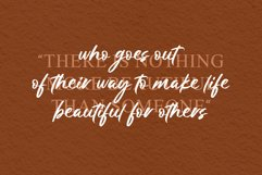 Golden Winter | A Natural Hand Brush Font Product Image 2