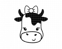 Funny cows clip art Product Image 6