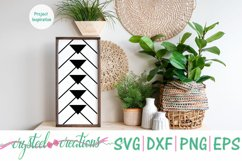 Boho Arrows Down 12x24 SVG, DXF, PNG, EPS Product Image 2