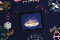Cartoon amusement park ICON SET. Product Image 2