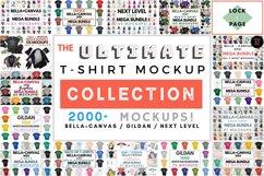 The Whole Shop - Lock & Page T-Shirt Mockup Bundle - On SALE Product Image 3
