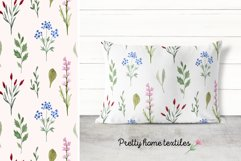 Watercolor Wildflowers. Patterns Product Image 5