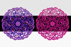 Mandala Printable Transparent Background, Sublimation PNG, Product Image 6