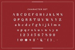 Web Font Noircis Product Image 4