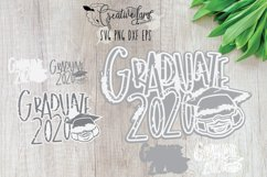 Instant Download-Graduate 2020 SVG PNG DXF EPS Distress svgs Product Image 2
