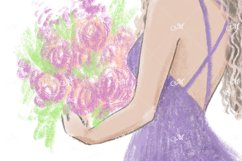 Flower Girl, Hand Drawn Illustration Product Image 3