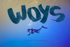Woys Brush Typeface Product Image 4