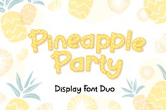 Pineapple Party Product Image 1