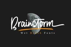 Brainstorm Brush Fonts Product Image 1