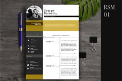Resume Template 2 Page   CV Template Product Image 1