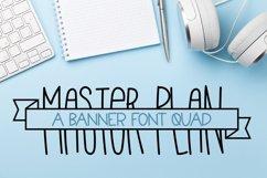 Master Plan - A Banner Font Quad Product Image 1