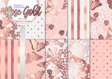 Rose Gold Butterfly Pattern Collection Product Image 1
