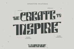 Leadstand | Classic Vintage Font Product Image 3