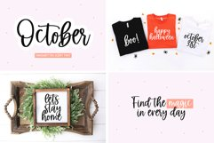 Font Bundle - Handwritten Fonts for Crafters - Almost Autumn Product Image 2