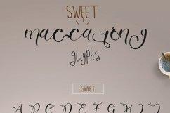 Sweet Maccarony Font Trio Product Image 6