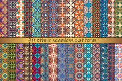 Ethnic seamless pattern collection Product Image 3