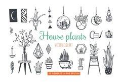 Home Plants in pots , gardening SVG bundle Product Image 1