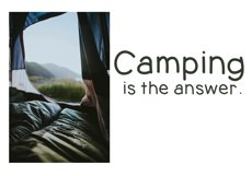Going Camping - A Handwritten Font Product Image 6