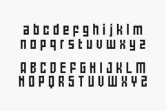 Battlefly Geometric Boxy Typeface Product Image 3