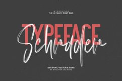 Schrader SVG Brush Font Product Image 2