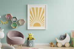Sun Printable Art Wall Decor ,Sun Art Print Boho Product Image 2