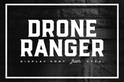 Drone Ranger Display Font Product Image 1