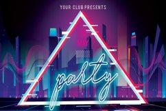 Disco Retro Party Flyer Product Image 6