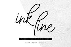 Ink Line | Modern Script Font Product Image 1