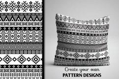 80 Tribal Pattern Brushes for Adobe Illustrator Product Image 5