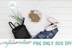 Sublimation Easter Rabbit Leopard Print 300dpi PNG Product Image 2