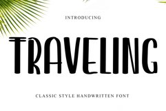 Traveling Product Image 1