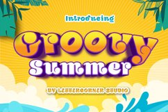 Groovy Summer Font Product Image 1