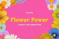 Flower Power Font Product Image 1