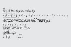 Hatedo | Handwritten Script Font Product Image 6