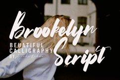 Brookelyn - Script Font Product Image 1