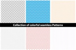 Colorful seamless patterns. Product Image 1