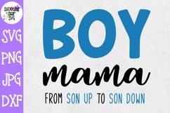 Boy Mama SVG - Mom of Boys SVG - Mom Life SVG Product Image 1