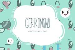 GERROMONO Playful Font Product Image 1